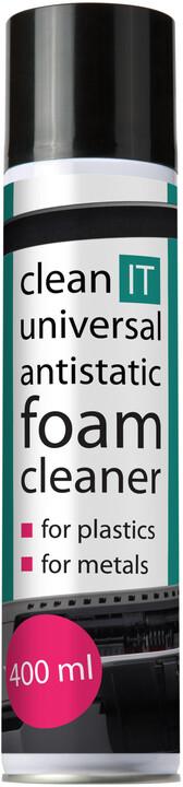 Clean IT antistatická pěna univerzální 400ml