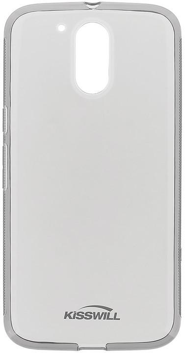 Kisswill TPU pouzdro pro Motorola G4, černá