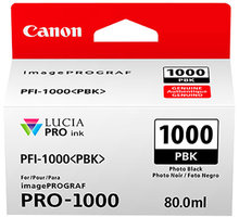 Canon PFI-1000PBK, photo black - 0546C001