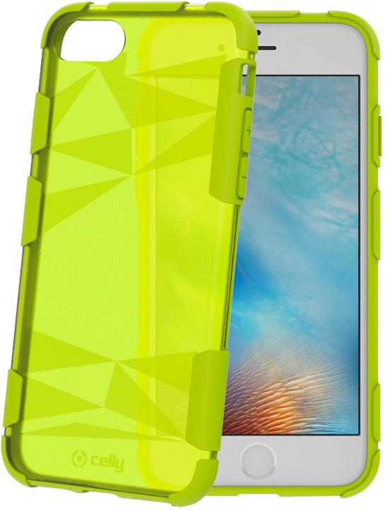 CELLY PRYSMA zadní kryt pro Apple iPhone 7, zelený