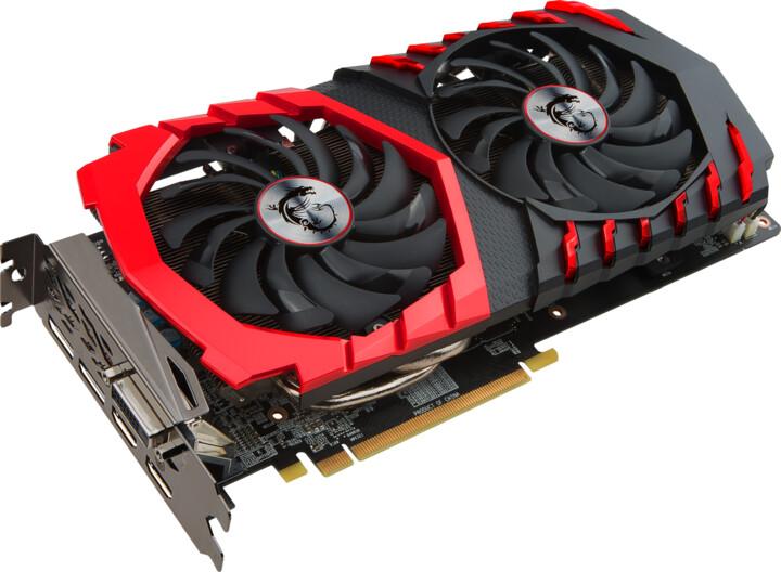 MSI Radeon RX 570 GAMING X 4G, 4GB GDDR5