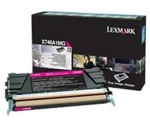Lexmark X746, X748, magenta, return