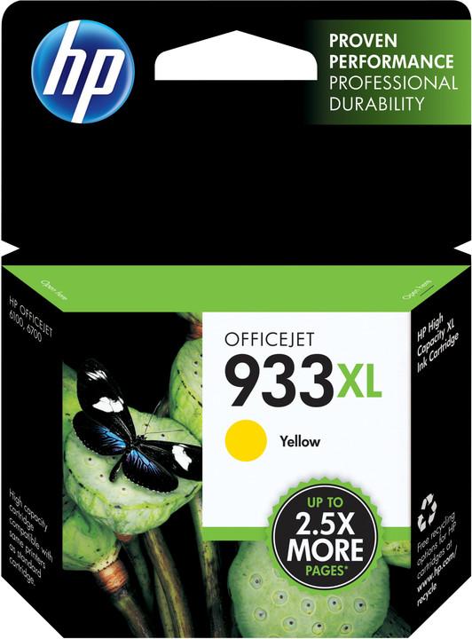 HP CN056AE No.933 XL žlutá – ušetřete až 50 % oproti standardní náplni
