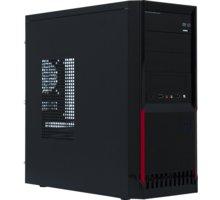 Crono MT-38, 350W, černá/červená - CR-MT38P350-80PLUS