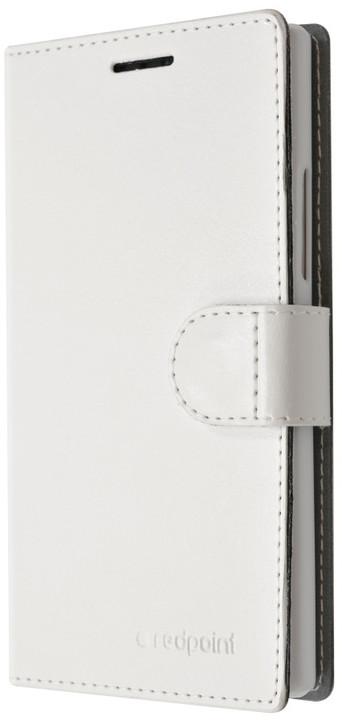 FIXED FIT pouzdro pro Lenovo P70, kolekce RedPoint, bílá