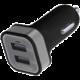 Emos napájecí zdroj USB CL duální 2x 2.1A, do auta