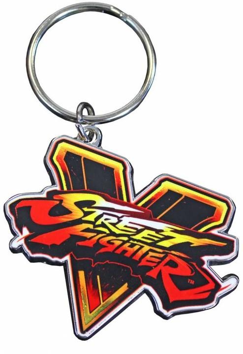 Street Fighter V Emblem - klíčenka