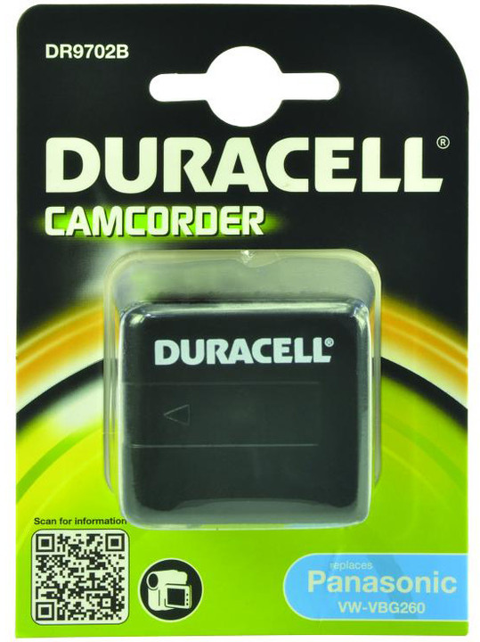 Duracell baterie alternativní pro Panasonic VW-VBG260