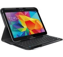 Logitech pouzdro Ultrathin Keyboard Folio s klávesnicí Samsung Galaxy Tab 4 US, černá - 920-006396
