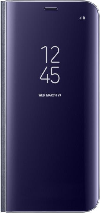 Samsung S8 Flipové pouzdro Clear View se stojánkem, violet