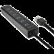 AXAGON 7x USB3.0 ALU CHARGING hub vč. AC adapteru