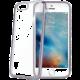 CELLY Laser - pouzdro lemování s kovovým efektem pro iPhone 7, černé
