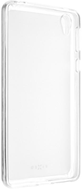 FIXED gelové pouzdro pro Sony Xperia E5, bezbarvá