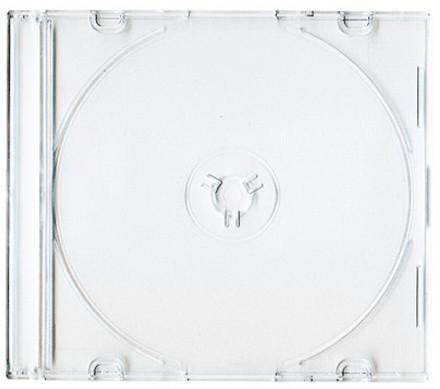 CD Box na 1 CD, slim, čirá, 10ks