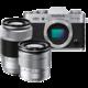 Fujifilm X-T20 + XC 16-50mm + XC 50-230mm, stříbrná