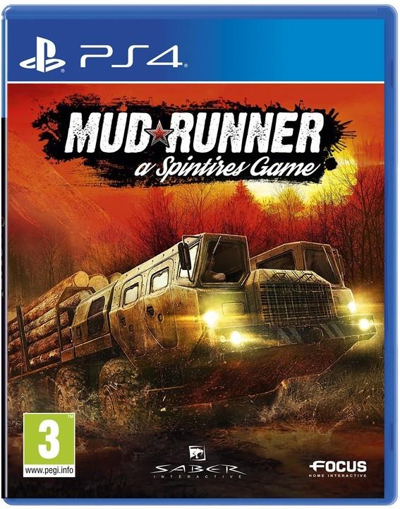 Spintires: MudRunner (PS4)