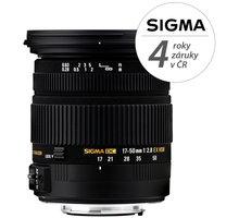 SIGMA 17-50/2.8 EX DC OS HSM Nikon - SI 583955