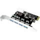 ICY BOX IB-AC614a USB 3.0 PCI-E Expansion Card with 4x USB 3.0 port