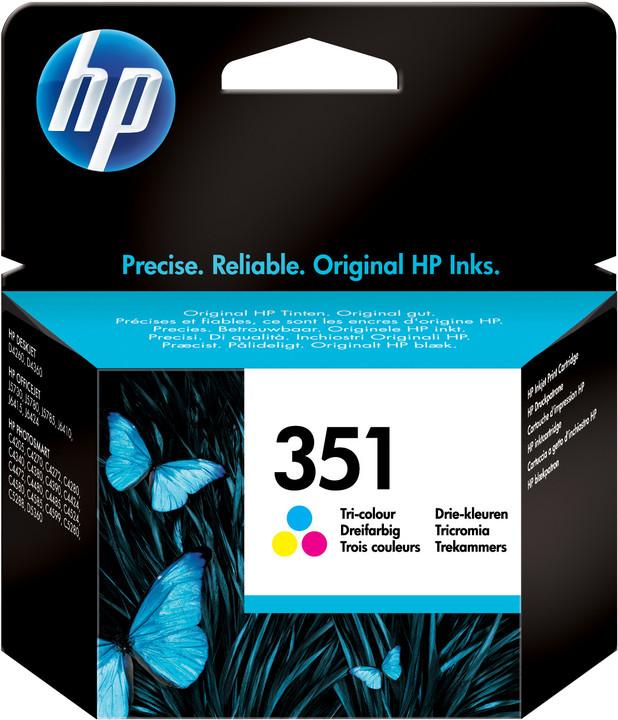 HP CB337EE, no.351, barevná