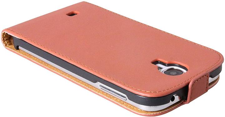 Patona pouzdro pro Samsung Galaxy S4 (I9505), hnědá hladká
