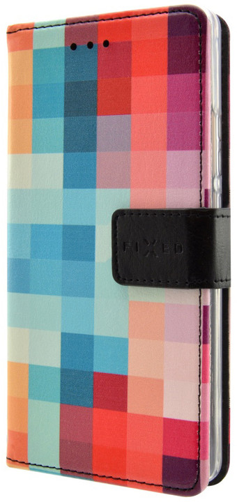FIXED Opus pouzdro typu kniha pro Huawei P9 Lite, motiv Dice