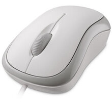 Microsoft Basic Optical Mouse, bílá - P58-00060