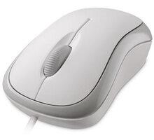 Microsoft Basic Optical Mouse, bílá - P58-00060