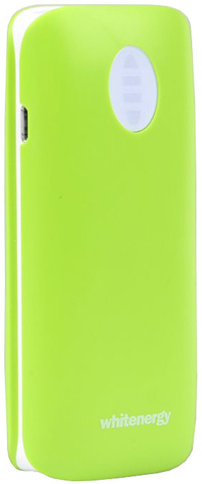 Whitenergy Power Bank 4000mAh 2.1A Li-Ion, zelená