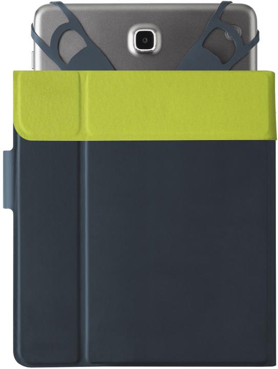 """Cellularline CLICKCASE univerzální tabletové pouzdro se stojánkem 8,4"""", modré"""