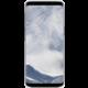 Samsung S8 poloprůhledný zadní kryt, stříbrná