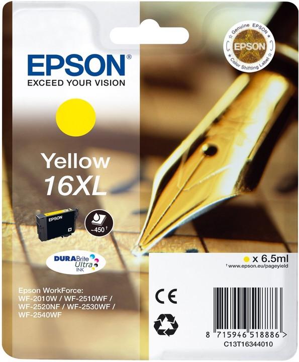 Epson C13T16344010, žlutá