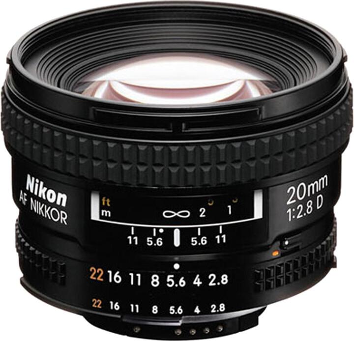 Nikkor 20mm f/2.8D AF