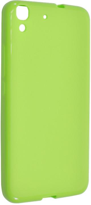 FIXED pouzdro pro Huawei Y6, zelená