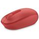 Microsoft Mobile Mouse 1850, červená
