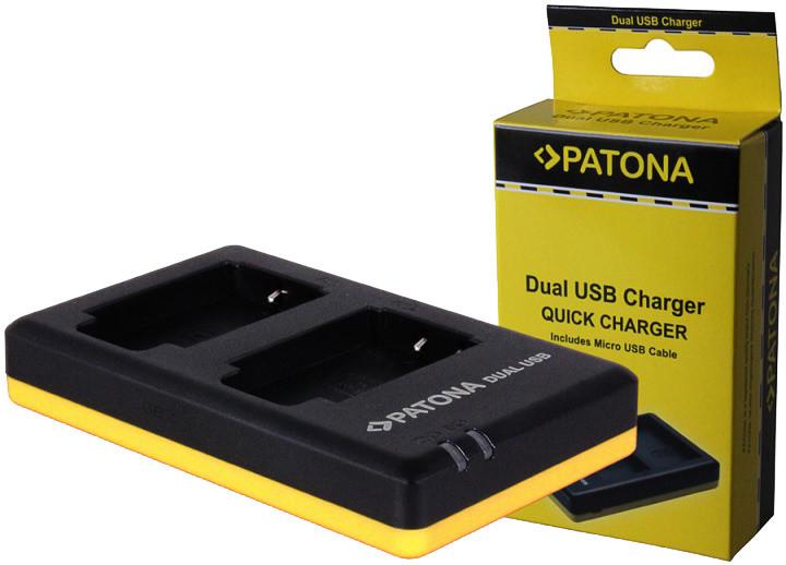 Patona nabíječka Dual Quick Canon LP-E6 USB