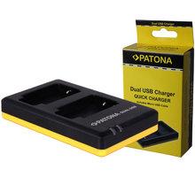 Patona nabíječka Dual Quick Canon LP-E6 USB - PT1968