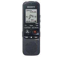 SONY diktafon ICDPX333, 4GB, černá - ICDPX333.CE7