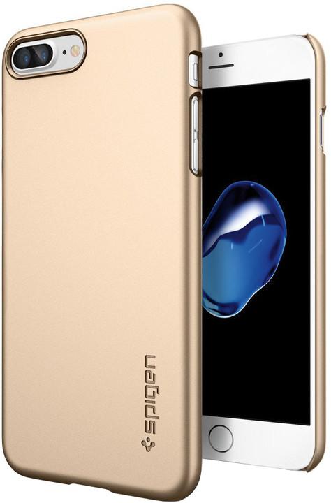 Spigen Thin Fit pro iPhone 7+, champagne gold