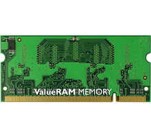 Kingston Value 2GB DDR2 800 SO-DIMM CL 6 - KVR800D2S6/2G