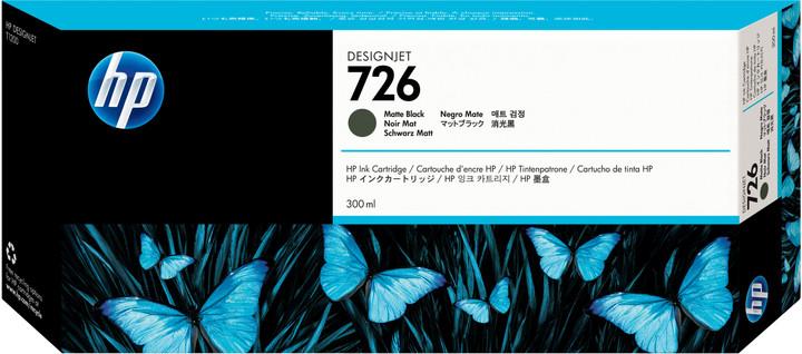 HP CH575A č.726, matná černá