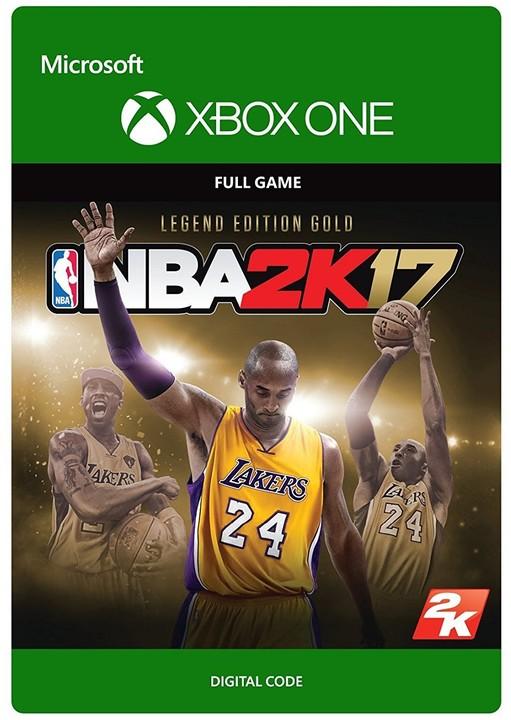 NBA 2K17: Legend Edition Gold (Xbox ONE) - elektronicky