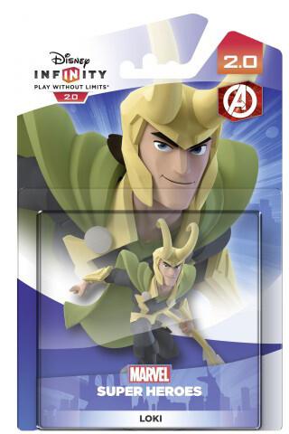 Disney Infinity 2.0: Marvel Super Heroes: Figurka Loki