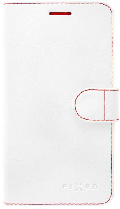 FIXED FIT pouzdro typu kniha pro Apple iPhone 6/6S, bílé