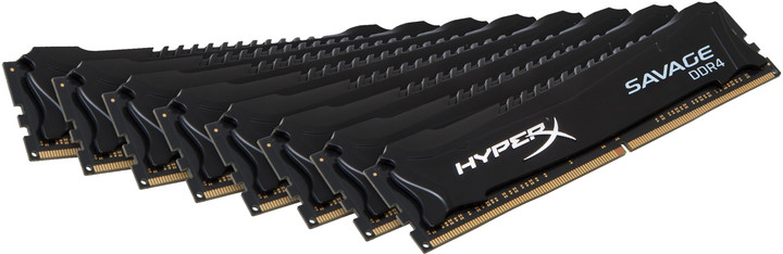 Kingston HyperX Savage Black 8x16GB DDR4 2666