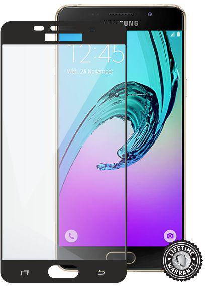 ScreenShield ochrana displeje Tempered Glass pro Samsung A510 Galaxy A5 (2016), Black (kovový okraj)