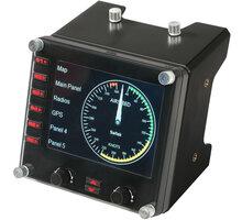 Logitech G Saitek Pro Flight Instrument Panel - letecký ovladač - 945-000008