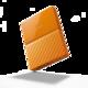 WD My Passport - 1TB, oranžová