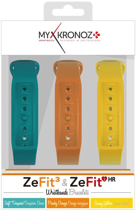 MYKRONOZ Pásky 3x pro ZeFit3 a ZeFit3 HR