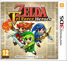 The Legend of Zelda: Tri Force Heroes (3DS) - 045496528423