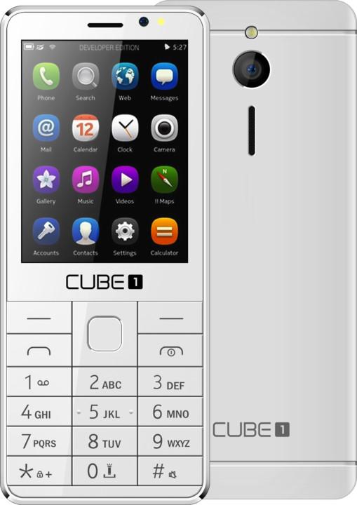 Cube 1 F300, bílá